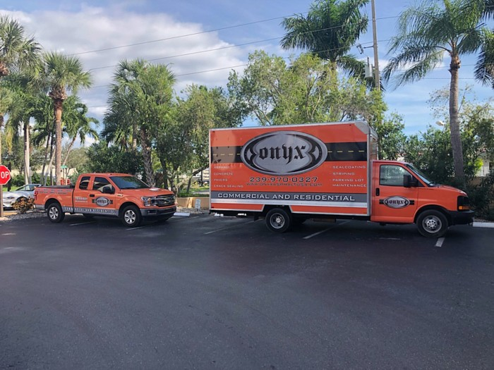 Asphalt paving services in Marco Island, Collier County