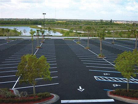 Pavement marking services in Southwest Florida