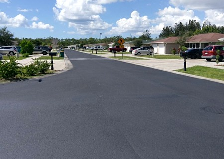 Asphalt paving services in Southwest Florida